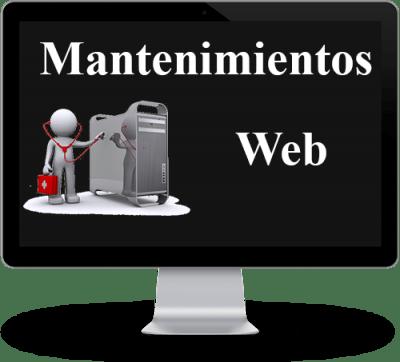 Mantenimientos web